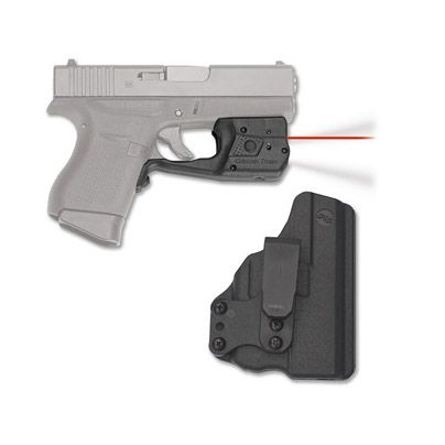 Crimson Trace Laserguard Pro light/laser combo with blade-tech IWB holster
