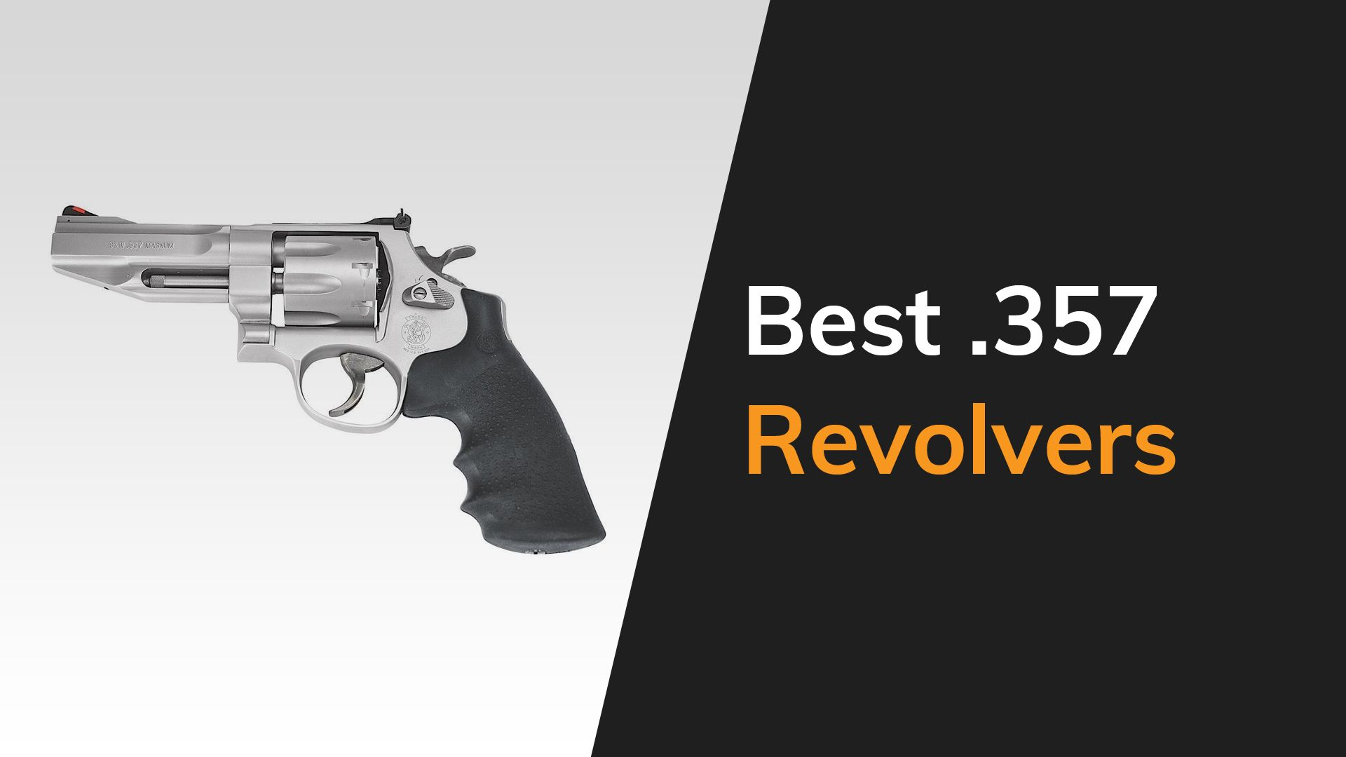 Best .357 Revolvers Featured